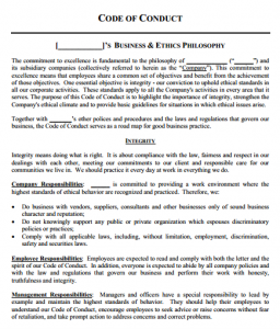 Ethics single family offices to download the ethics template please click here we have tried to add a few dozen video modules and several resources such as this code of conduct or pronofoot35fo Gallery